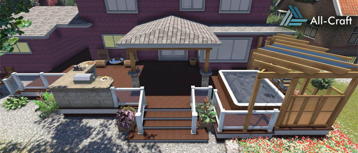 Custom Deck designs and exterior renovations in Halifax