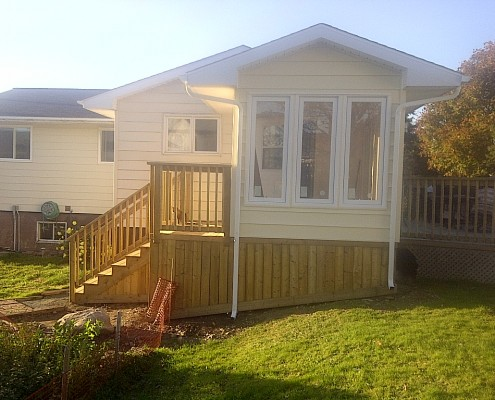 Halifax Sunroom installation