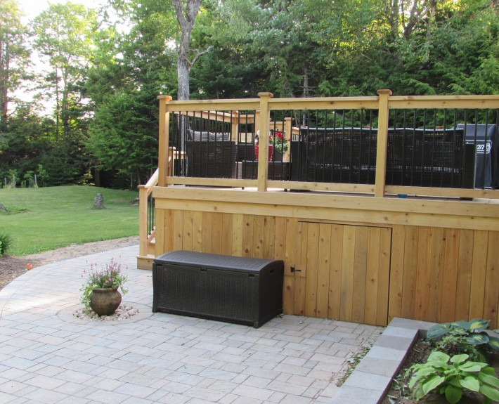 Deck renovations in Nova Scotia