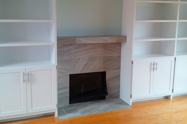 Custom Mantle Renovation