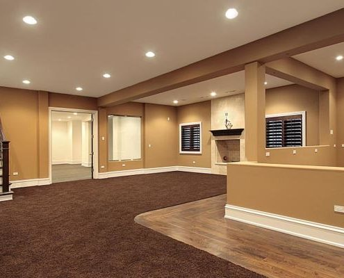 Halifax basement renovation and finishing