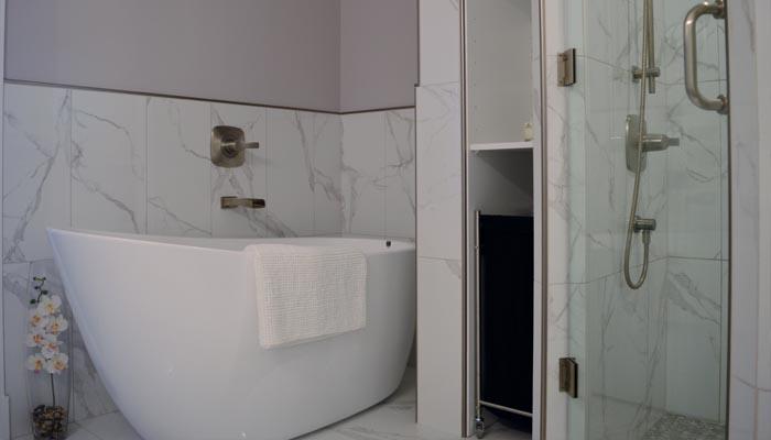 custom ensuite bathroom renovation