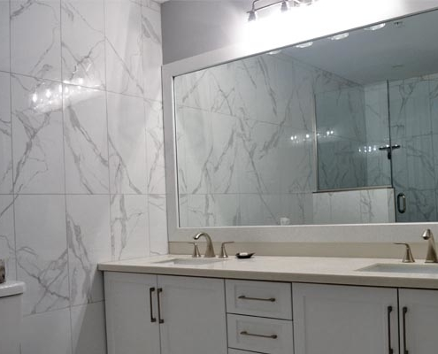 custom bathroom renovation in HRM