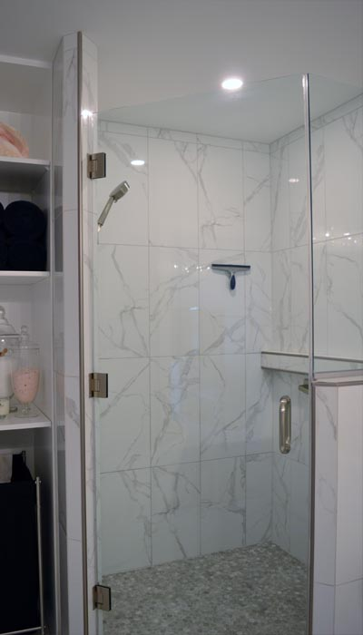 shower remodel in Halifax
