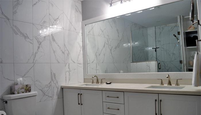 custom bathroom renovation in HRM