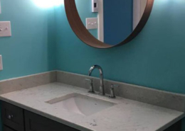 bathroom remodel vanity in HRM