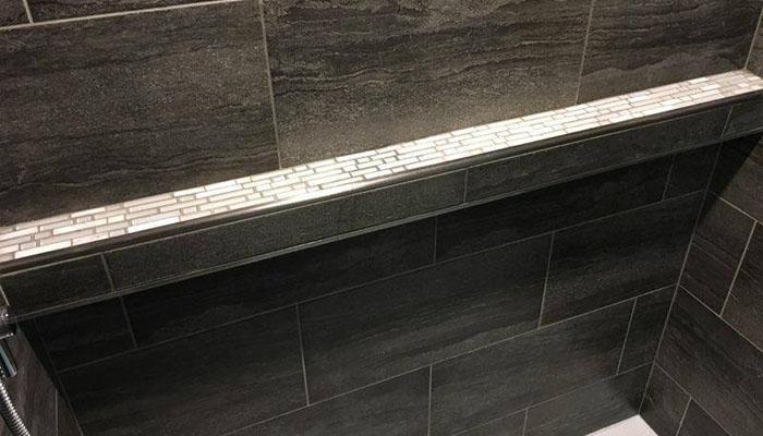 bathroom remodel shower in HRM
