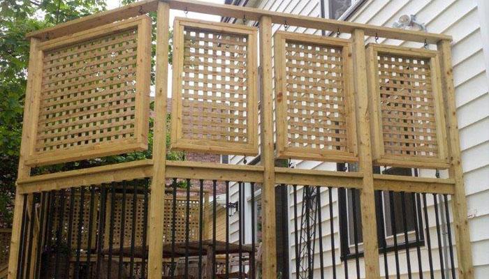 lattice panel deck Halifax