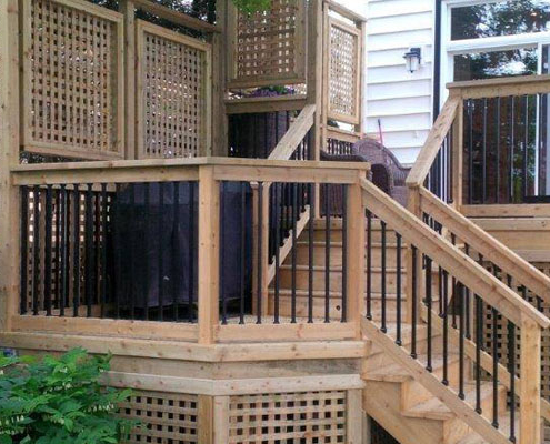 lattice panel deck design HRM