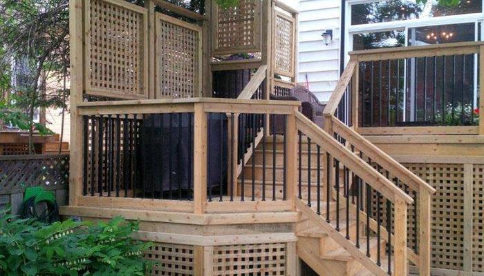 lattice panel deck design HRM