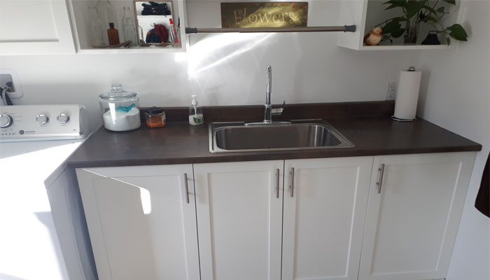 laundry room remodel in Halifax