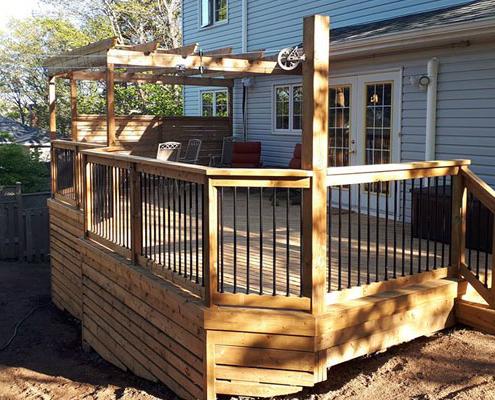 custom deck in halifax