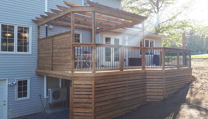 custom deck design halifax