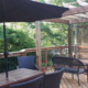 outdoor dining area in halifax