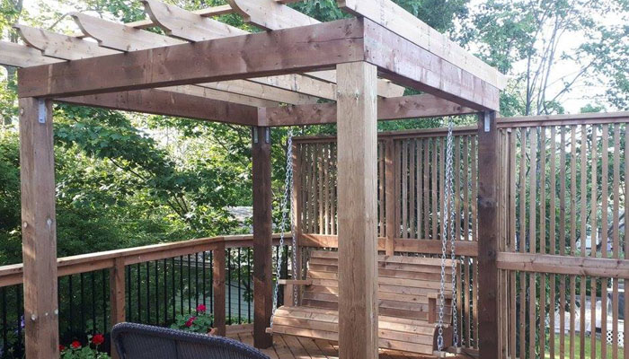 pergola and deck in HRM