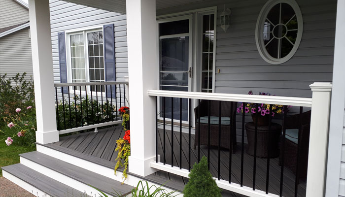 deck with railing in halifax