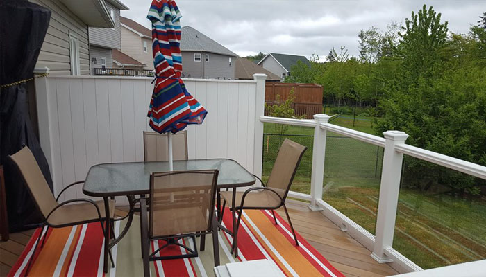 deck in HRM