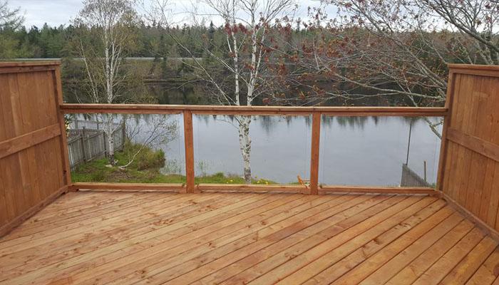 glass panel deck HRM