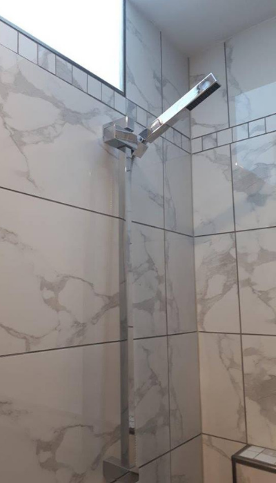Custom Shower Renovation