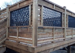 Custom Deck Lattice