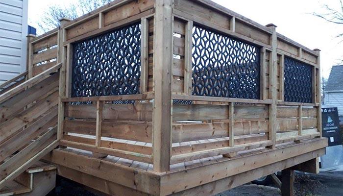 Custom Deck Lattice